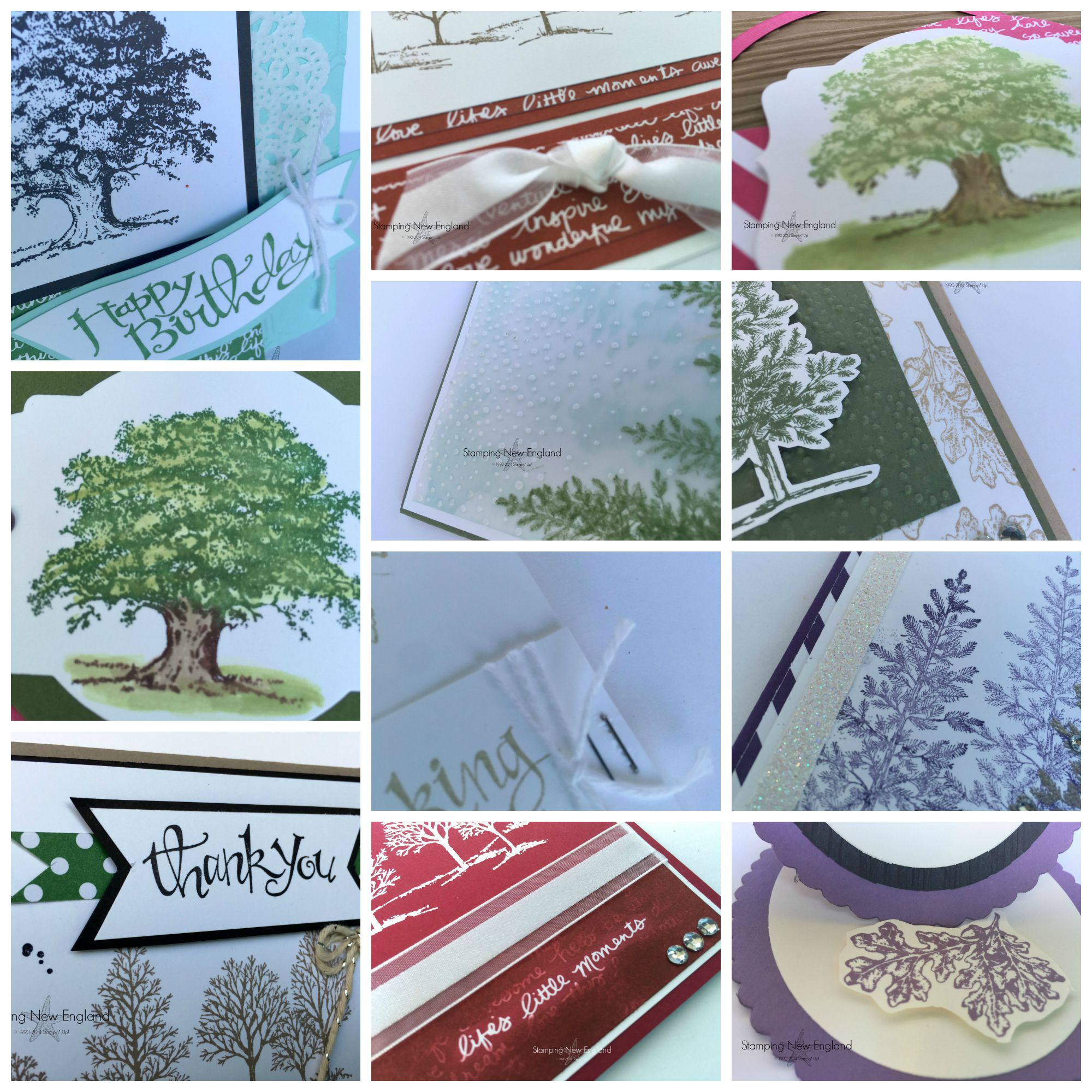 Lovely as a Tree Collage