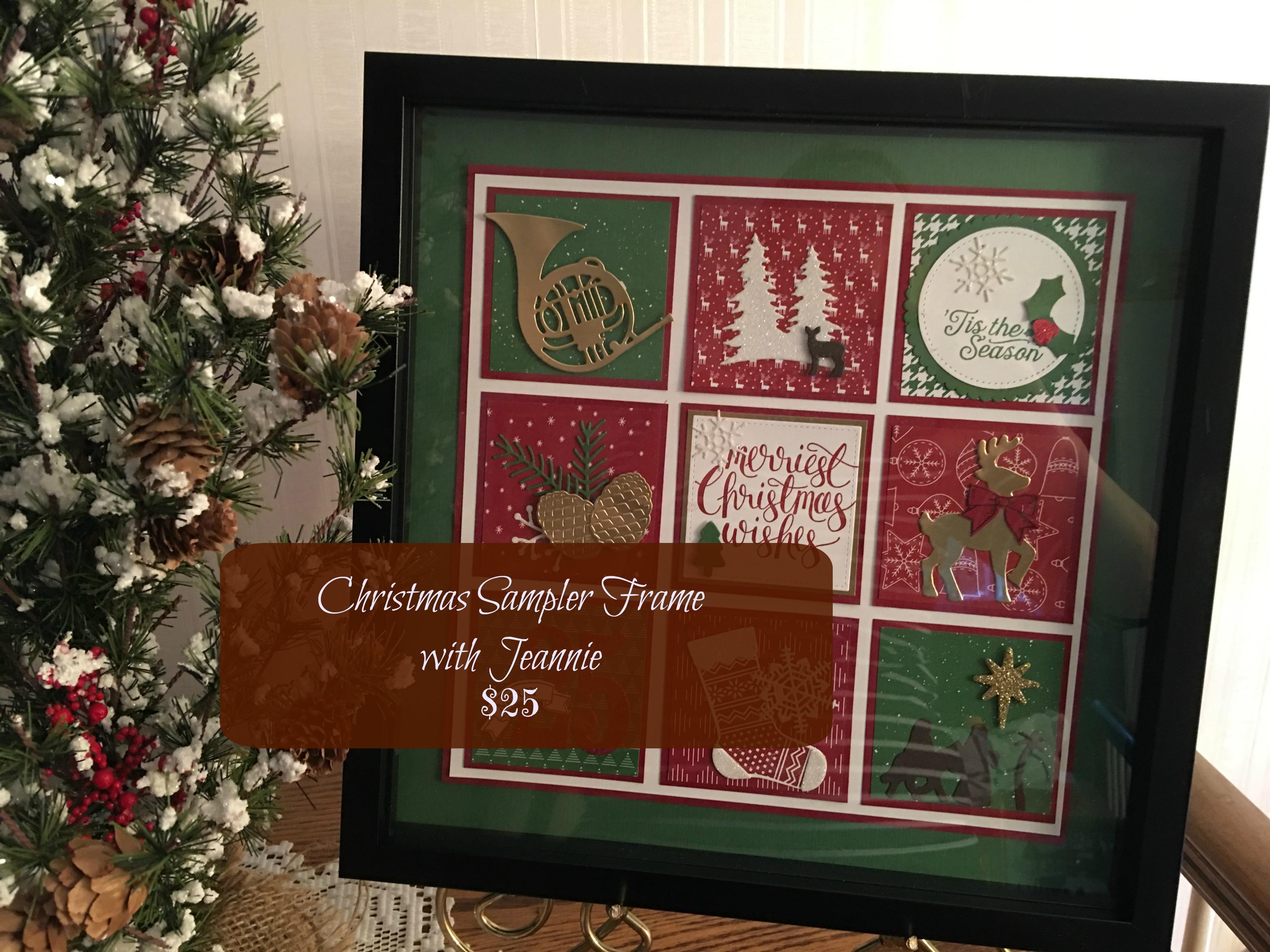 JVN Christmas frame ad